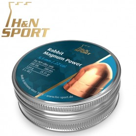 Balines H&N Rabbit Magnum Power 1,64g lata 200 unid. 5,5mm -