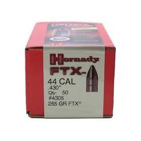 Puntas Hornady FTX cal. 44 - 265gr - Armeria EGARA