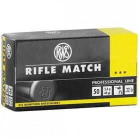 Munición RWS Cal 22 Rifle Mach - Armeria EGARA