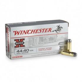 Munición Metálica Winchester Cal. 44-40 225 Gr Punta Plomo De