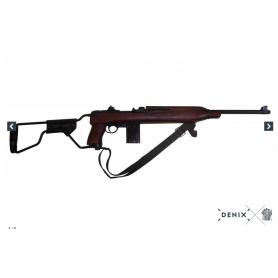 CARABINA M1A1 MODELO PARACAIDISTA, USA 1942 Denix - Armeria