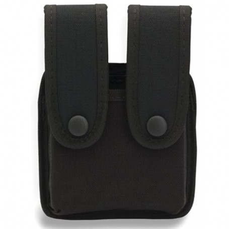 Funda UNCLE MIKE'S compacta de nylon para 2 cargadores -