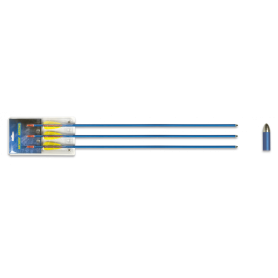 "Set 3 flechas aluminio. 29"" - Armeria EGARA"
