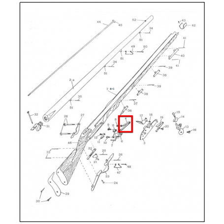 Muelle real Brown Bess - Armeria EGARA