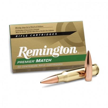 Munición metálica REMINGTON PREMIER MATCH - 308 Win. - 168