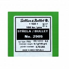 Puntas Sellier Bellot Cal. 6,5 - 140 Gr FMJ - Armeria EGARA