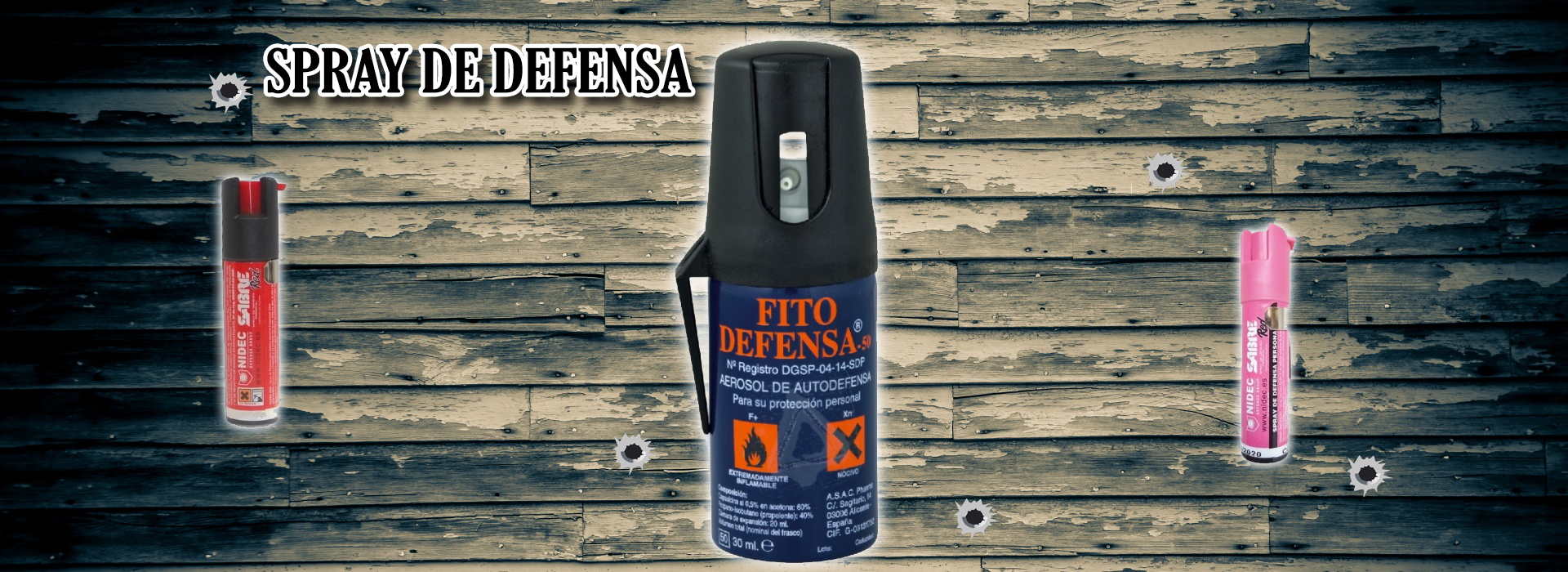 Spray de Defensa